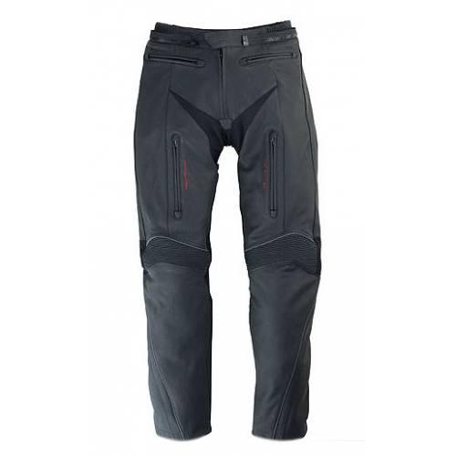 Pantalon H2Sport, homme, cuir noir, doublé, waterproof, protections, Triumph