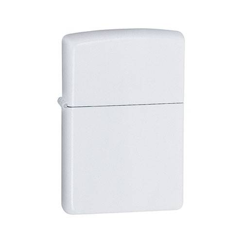 Zippo essence, blanc mat, métal, Zippo 850033