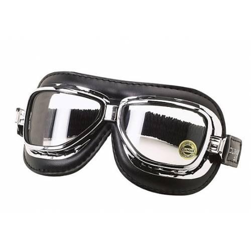 Lunettes Climax 510, noir, vintage, verres incurvés incassables