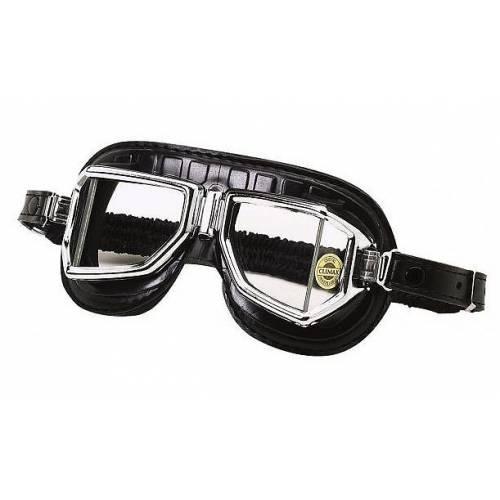 Lunettes Climax 513S, noires, champ vision élargi, verres incassables