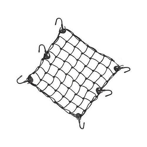 Filet à bagages 6 crochets 45x45 cm élastiques Harley Davidson 98169-88T