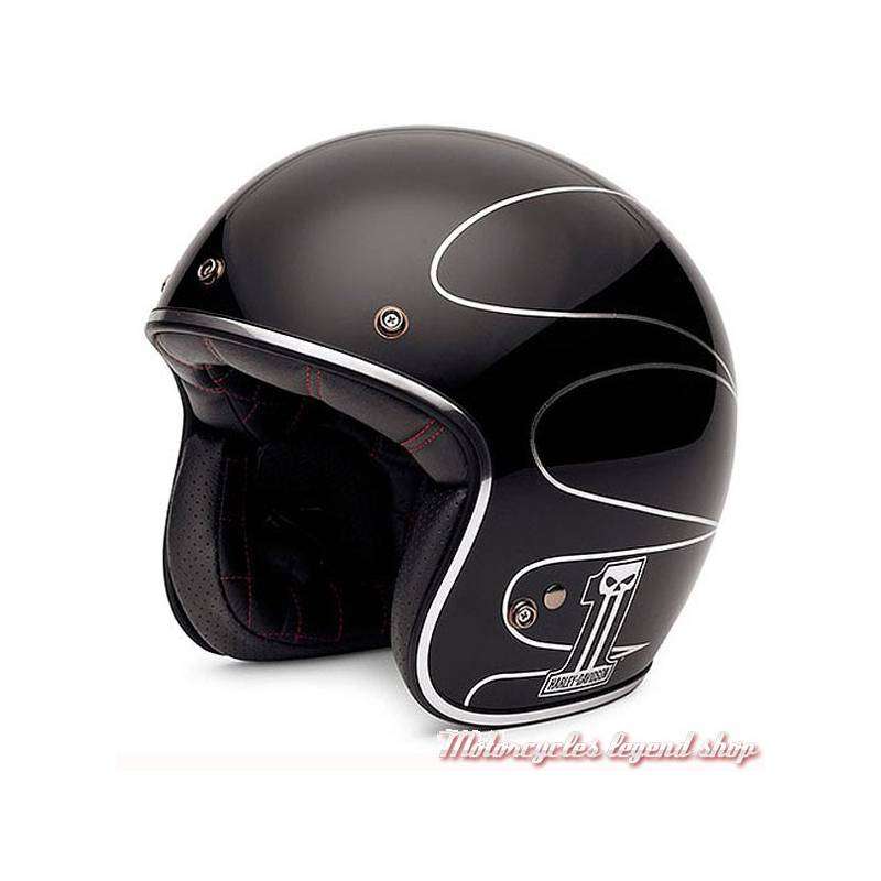 casque jet elite retro harley davidson motorcycles legend shop. Black Bedroom Furniture Sets. Home Design Ideas