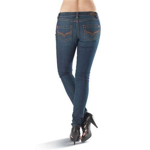 Jean Skinny, femme, slim, bleu légèrement délavé, Harley-Davidson 99125-13VW