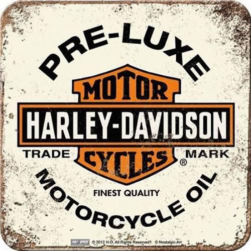 Dessous de verre Pre-Luxe, metal, Harley Davidson 46102