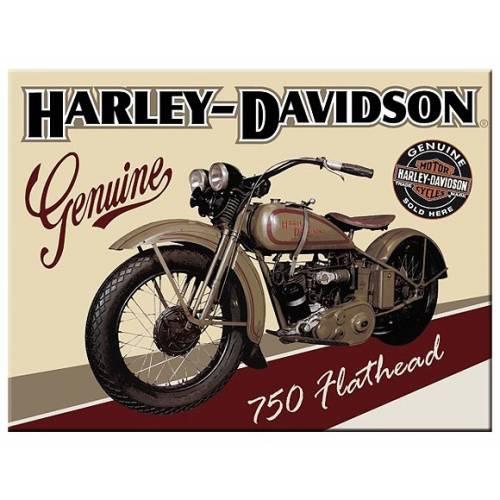 Magnet American Classic, Harley-Davidson 750 Flathead, 14223