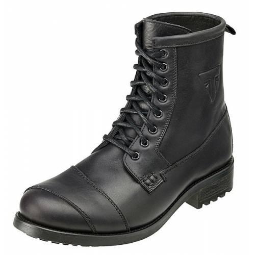 Chaussures Classic homme, montantes à lacets, cuir noir, Triumph MBTS15162