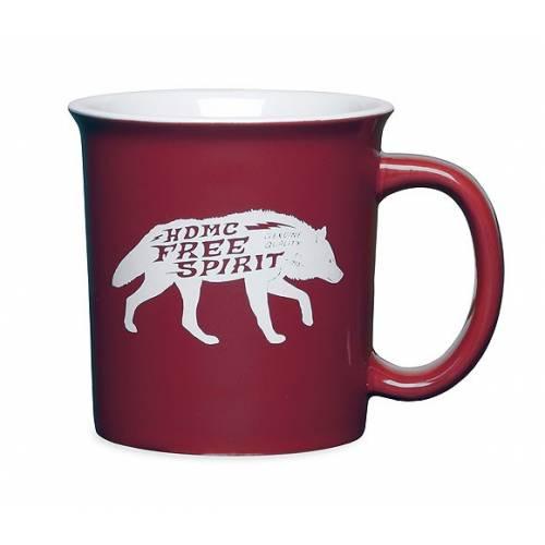 Mug Free Spirit Black Label, céramique, 45cl, rouge, Harley-Davidson 96891-15V