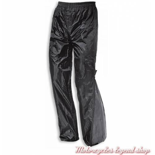 Pantalon de pluie Aqua, homme, nylon, noir et gris, Held 6557