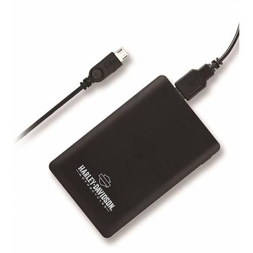 Batterie de secours H-D, port USB, 3000 mAh, Harley-Davidson 7781