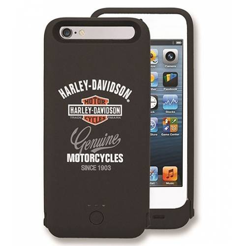 Coque chargeur iPhone 6/6S, 2500 mAh, Harley-Davidson 7750