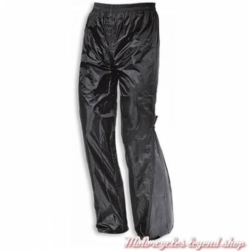 Pantalon de pluie Aqua, court, nylon, noir et gris, Held 6557/K