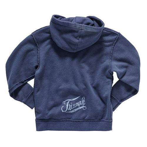 Sweatshirt Detroit enfant, à capuche, bleu navy, coton, Triumph MJWS16045