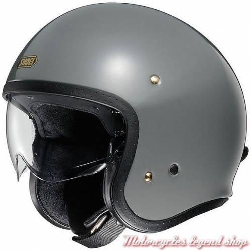 Casque J.O gris brillant Shoei