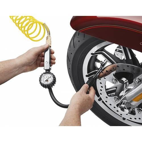 Manomètre et soupape de remplissage, flexible 45 cm, Harley-Davidson 12700096