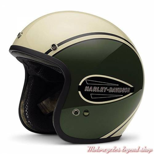 Casque jet Classic Retro Harley-Davidson