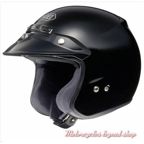 Casque RJ Platinium noir brillant Shoei