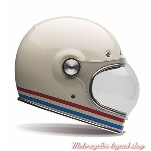 Casque Bullit Stripes Pearl Bell