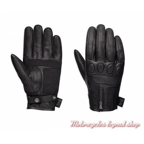 Gants cuir One Skull Harley-Davidson homme