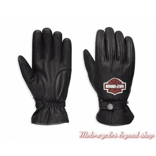gants cuir mesh harley davidson homme motorcycles legend shop. Black Bedroom Furniture Sets. Home Design Ideas