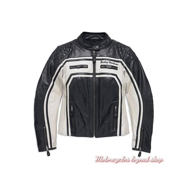 Femme Blouson Harley Harley Davidson Davidson Femme Blouson Cuir WBrCedxo