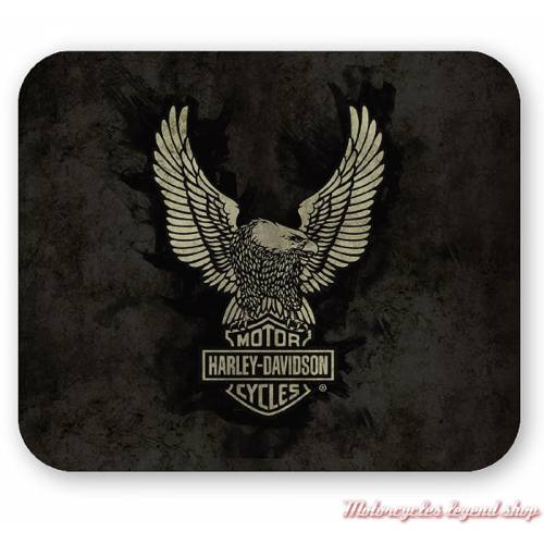 Tapis de souris Eagle Harley-Davidson, neoprene, fin, MO32888