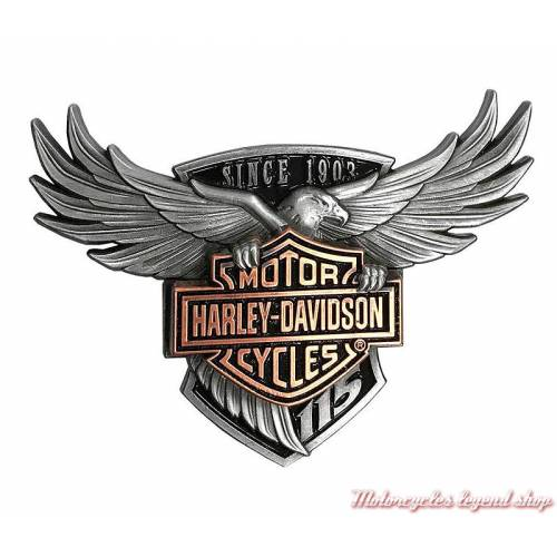 Pin's aigle et support transparent 115th Anniversary Harley-Davidson 290163