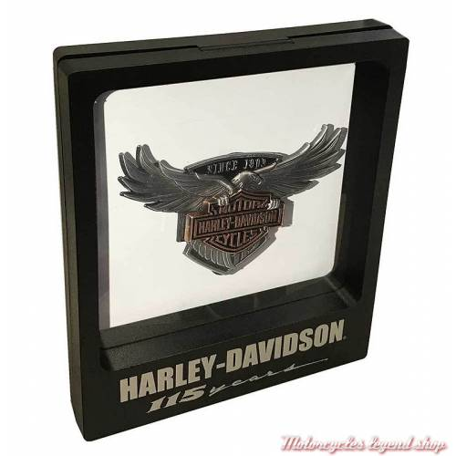 support transparent pour Pin's aigle 115th Anniversary Harley-Davidson 290163