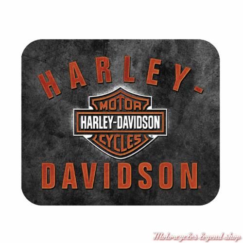 Tapis de souris Bar & Shield Rockers Harley-Davidson, neoprene, fin, MO28366