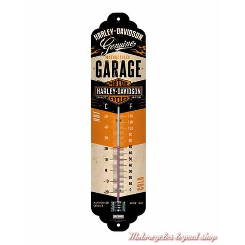 Thermomètre Garage Harley-Davidson, métal, 80313