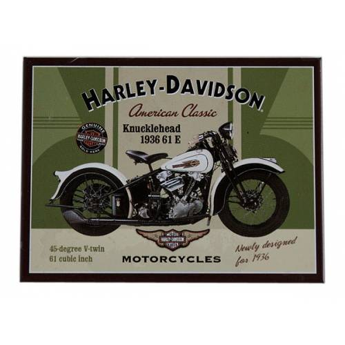 Magnet American Classic, Harley-Davidson Knucklehead 1936, 14224