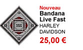 Bandana Live Fast mixte Harley-Davidson