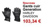 Gants cuir generations homme Harley Davidson