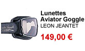 Lunettes Aviator Goggle Leon Jeantet
