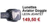Lunettes Aviator Goggle Leon Jeantet
