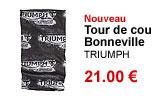 Tour de cou réversible Bonneville Triumph