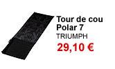 Tour de cou textile et polaire Triumph
