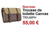 Trousse de toilette Canvas et cuir Triumph