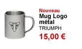 Mug Logo metal Triumph