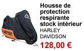 Housse de protection moto intérieur Harley-Davidson