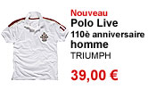 Polo Live homme Triumph