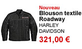 Blouson textile Roadway homme Harley-Davidson 