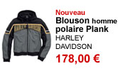 Blouson polaire Plank homme Harley Davidson
