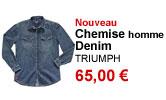 Chemise Denim homme Triumph