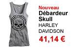 Débardeur Skull Willie G. femme Harley Davidson