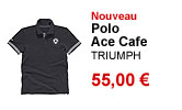 Polo Ace Cafe homme Triumph
