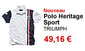 Polo Heritage Sport homme Triumph