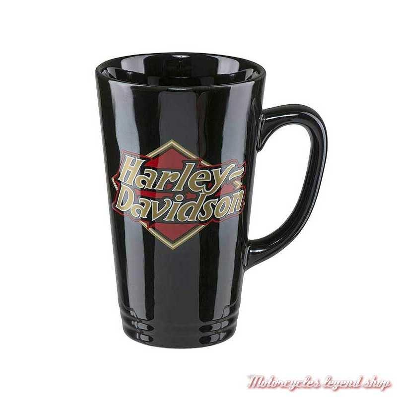 Mug Logo Harley-Davidson, céramique noir, 45 cl, HDX-98608