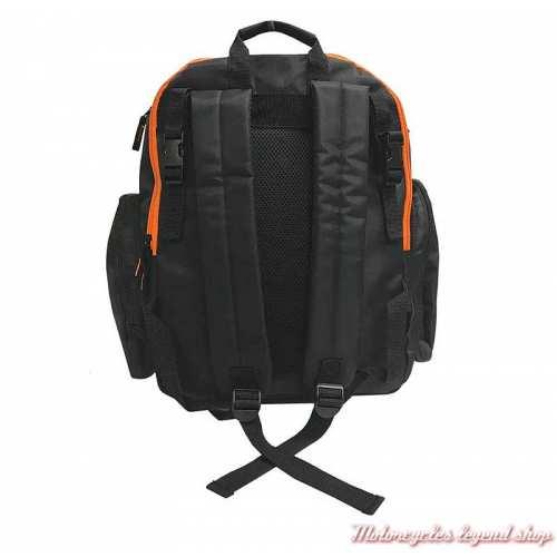 Sac à dos pour langer bébé Harley-Davidson, noir, nylon, dos, 7150877