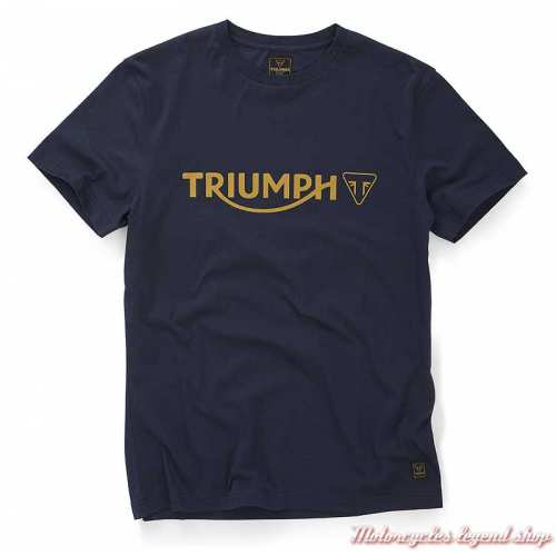 Tee-shirt Cartmel Black Iris homme Triumph