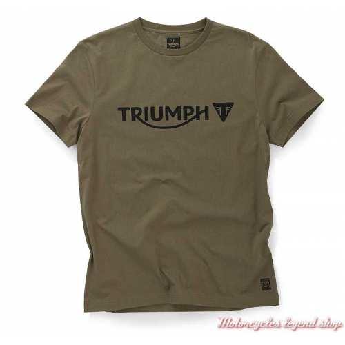 Tee-shirt Cartmel Khaki homme Triumph